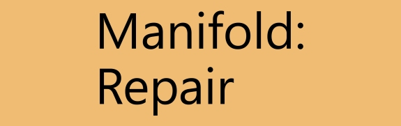 Manifold: Repair Welcomes You